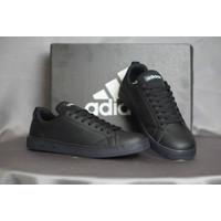 Sepatu Kets Sneakers Adidas Neo Advantage Full White Pria - 100% bnib - Hitam
