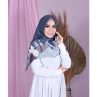 Hijab Jilbab Kerudung Segi Empat Voal Waterproof Motif Jilbab Terbaru