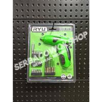 RYU Mesin Bor Obeng Baterai 4.8 V-1 Cordless Screwdriver Bor Charge