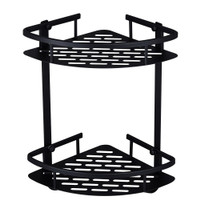 Rak Aluminum Triangular Organizer Rack Bathroom 2 Layers