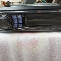 Alpine 9861E DVD MWA MP3 24 Bit Audio head unit single din