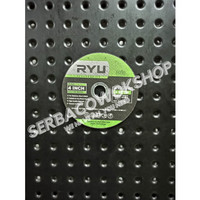 RYU Batu Gerinda Gurinda Potong Besi Mata Cutting Wheel 4 Inch x 1.2mm