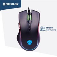 mouse gaming rexus x13 rgb kabel