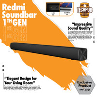 Xiaomi Redmi Soundbar Wired and Wireless Audio with 8 speakers