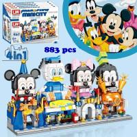 LW 708 Bricks Disney Mini City Street View Lego