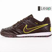 Sepatu Futsal Nike React Gato x Supreme iC Brown