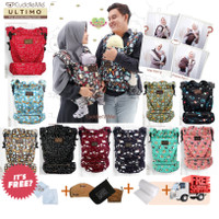 FREE ONGKIR CuddleMe Ultimo Carrier SSC Baby Carrier Gendongan Hips