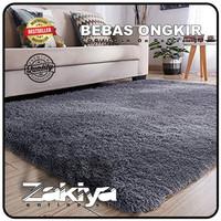 karpet bulu rasfur kecil uk 100x150x2,5 cm