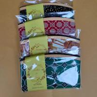 souvenir Pernikahan dompet motif batik ukuran 17x10 Grosir