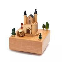 Music Box Wooden Castle