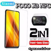 Tempered Glass Clear Xiaomi Poco X3 NFC Pelindung Layar & Kamera