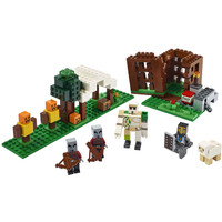 11476 Bricks Minecraft The Pillager Outpost Compatible Lego