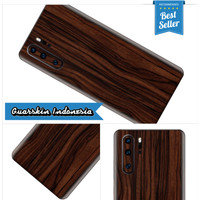 Huawei P30 Pro Premium Skin Garskin for Case - Wood Ebony