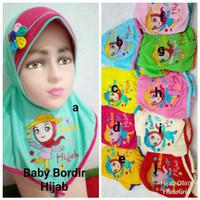 Jilbab Bayi Kaos Super Harian Bordir Hijab