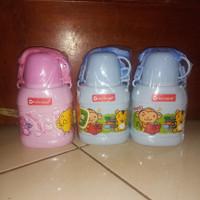 botol minum anak karakter bpa free - pink