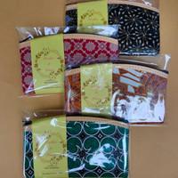 souvenir Pernikahan dompet motif batik ukuran 17x10 - kemas n ucapan