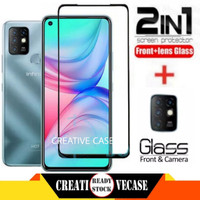 Tempered Glass Infinix Hot 10 2020 Free Tempered Glass Camera