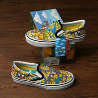 Sepatu Vans Slip On The Simpsons Comfycush Unisex ORI Premium BNIB