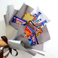 Snack Bouquet / Buket Jajanan ciki coklat wafer