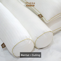 Paket Mokka GOLD (Bantal + Guling) Microfiber