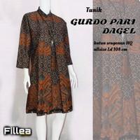 fillea Gurdopari dag atasan batik wanita baju kerja wanita modis murah
