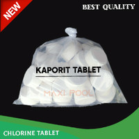 Kaporit Tablet Kecil / Klorin Tablet 90%