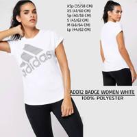 Kaos Branded Wanita - ADIDAS 12 BADGE WOMEN