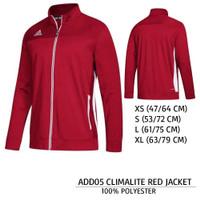 Jaket Branded Pria - ADIDAS 05 MEN RED