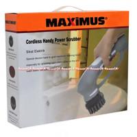 Maximus Sikat Elektrik Wireless Alat Pembersih Tanpa Kabel