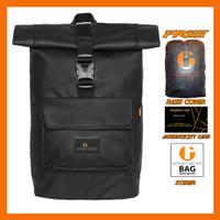 Tas Ransel Pria Backpack Laptop Water Resistant Urban Factor Thunder