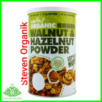 Earth Living Organic Walnut & Hazelnut Powder 500 gr