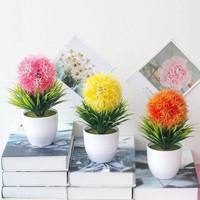 Bunga Hias SNAPDRAGON Artificial Pot DekorasiTanaman Pohon Bonsai Vas