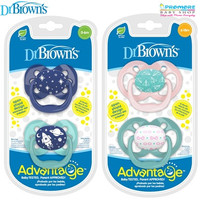Dr Brown's Advantage Pacifier / Kompeng / Empeng