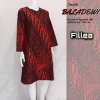 fillea Baladewi new atasan batik wanita baju kerja wanita modis murah