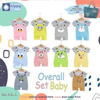Setelan baju bayi overall-jumper umur 1-3 tahun