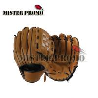 Sarung Tangan Glove Gloves Softball Soft Ball Baseball ROX Dewasa Anak - Cokelat, 10.5