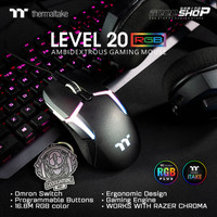 Thermaltake Level 20 RGB Mouse - Gaming Mouse