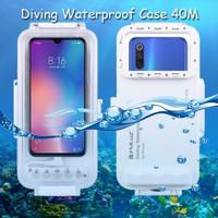 Puluz Diving Waterproof Case 45 Meter Underwater Xiaomi Mi 9, 9 SE
