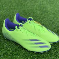 sepatu bola adidas original X GHOSTED.4 FxG hijau biru new 2020