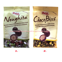 Zaini Cioco Bisco Biscotti Ricoperti 100gr Noughita Cokelat Praline