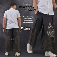 fillea Geberetakitem sarung celana batik pria baju ibadah modern murah