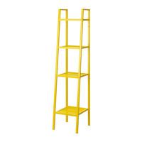 IKEA - LERBERG - RAK BESI 4 TINGKAT (35x35x148) LIMITED STOK PUTIH/ABU