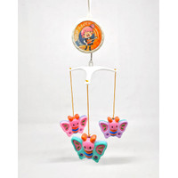 Baby Bed Bell Mainan Bayi Music Box Gantung / Merry Go Round Musik