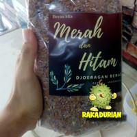 beras mix hitam merah organik