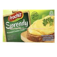 Prochiz Spready Keju Oles Cheddar Cheese 170gr Keju Untuk Roti Cheddar