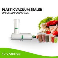 Plastik Refill Vacuum Sealer Embossed 1 Roll /17 x 500 cm