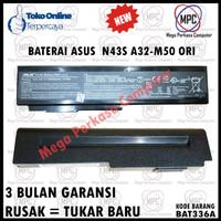BATERE BATERAI LAPTOP ASUS N43 N43S N43SL Series A32-M50 ORIGINAL