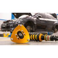 Subaru WRX GVF Yellow Speed Racing Dynamic Pro Sport Coilover