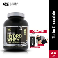 Optimum Nutrition Platinum Hydrowhey GF 3.5Lbs Turbo Choco