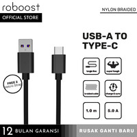 roboost Kabel Data Oppo Vivo Realme 5A VOOC Fast Charge Support